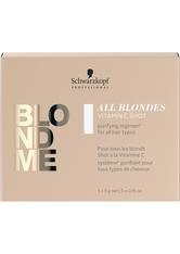 Schwarzkopf Professional BlondMe All Blondes Detox Vitamin C Shots 5x5g Haarmaske