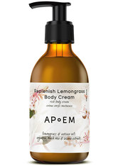 APoEM Replenish Lemongrass Body Cream 250 ml Bodylotion