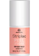 Alessandro Striplac Peel or Soak - Vegan Nagellack 8 ml Nr. 129 - Lilly Billy