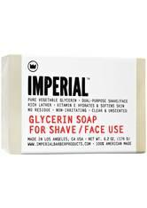 Imperial Herrenpflege Rasurpflege Glycerine Soap for Shave/Face 183 ml