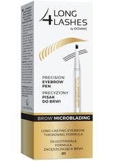 LONG4LASHES Microblading  Augenbrauenstift 1.1 ml Nr. 01 Medium Brown