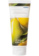 KORRES Reinigung & Pflege BERGAMOT PEAR Glättende Körpermilch Bodylotion 200.0 ml