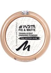 MANHATTAN - Manhattan Make-up Gesicht Insta Fix & Matte Powder Nr. 001 1 Stk. - Gesichtspuder