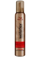 WELLA - Wella Wellaflex Style & Hitzeschutz Schaumfestiger 200 ml - HAARSCHAUM
