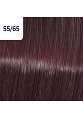 Wella Koleston Perfect ME+ Vibrant Reds 55/65 Hellbraun Intensiv Violett Mahagoni, 60 ml