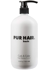 Pur Hair Curls & Color Deep Cleansing Shampoo 1000 ml