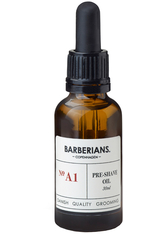 Barberians Grooming Pre-Shave Oil 30 ml Rasieröl