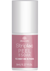 Alessandro Striplac Peel or Soak - Vegan Nagellack 8 ml Nr. 112 - Meet Me In Paris