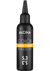 Alcina Color Gloss+Care Emulsion Haarfarbe 5.3 Hellbraun-Gold Haarfarbe 100 ml