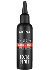 Alcina Color Gloss+Care Emulsion Haarfarbe 10.16 H.L.Blond-Asch-Viol. Haarfarbe 100 ml