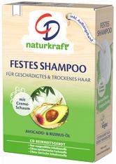 CD Festes Shampoo Avocado & Rizinusöl 75 g