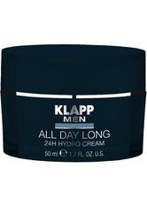 KLAPP - KLAPP MEN Z_KLAPP MEN All Day Long - 24H Hydro Cream (DE/AT nicht GK) 50 ml - TAGESPFLEGE