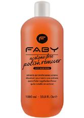 Faby Acetone Free Polish Remover 1000 ml Nagellackentferner