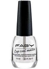 FABY - FABY Top Coat Matte 15 ml - BASE & TOP COAT