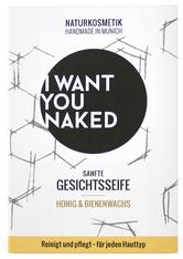 I WANT YOU NAKED Produkte Honig & Bienenwachs Sanfte Gesichtsseife Vitamine 100.0 g