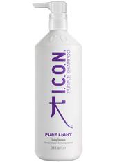 ICON Produkte Pure Light Toning Shampoo Haarshampoo 1000.0 ml