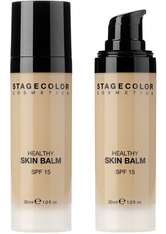 Stagecolor Cosmetics Healthy Skin Balm 30 ml Yellow Beige Creme Foundation