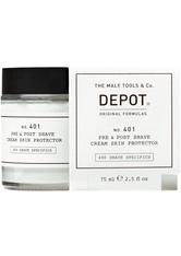 DEPOT 401 Pre & Post Shave Cream Skin Protector 75 ml