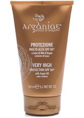 ARGANIAE - Arganiae Argan Oil Cream Protection SPF 50+ 150 ml - SONNENCREME