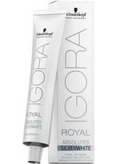 Schwarzkopf Professional Haarfarben Igora Royal Absolutes Silverwhite Tonal Refiners Schiefer Grau 60 ml