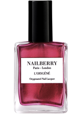 Nailberry Nägel Nagellack L'Oxygéné Oxygenated Nail Lacquer Red Sparkeling 15 ml