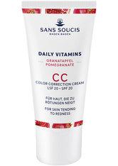 Sans Soucis Daily Vitamins Pomegranate LSF20 Anti-Roetungen CC Ceam Gesichtscreme 30.0 ml