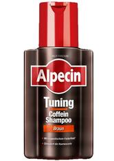 Alpecin Produkte Tuning Coffein-Shampoo Braun Haarfarbe 200.0 ml