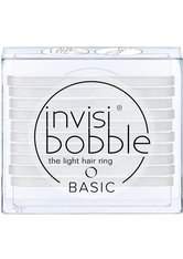 invisibobble Basic The Light Hair Ring - Crystal Clear (10er-Packung)