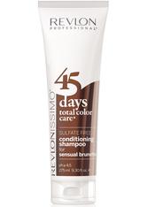 REVLON - Revlon Revlonissimo 45 Days Sensual Brunettes 2 in 1 Shampoo & Conditioner 275 ml - CONDITIONER & KUR