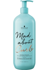 Schwarzkopf Professional Haarpflege Mad About Curls & Waves Mad About Curls Low Foam Cleanser 1000 ml