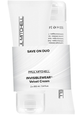 Aktion - Paul Mitchell Invisiblewear Save on Duo Velvet Cream 2 x 100 ml Haarstylingset