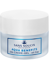 Sans Soucis Moisture Aqua Benefits 24h Feuchtigkeits-Creme-Gel 50 ml Gesichtscreme