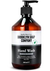 Brooklyn Soap Hanföl & Muskatnuss Flüssigseife 300 ml
