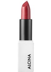 Alcina Creamy Lip Colour Guava für gebräunte Haut, dunkle Haare