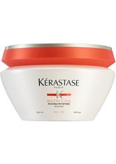 Kérastase Nutritive Bain Satin 1 250ml, Nutritive Lait Vital 200ml & Masquintense Cheveux Fins (Für dünnes Haar) 200ml