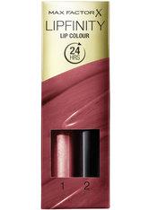 Max Factor Lipfinity Lip Colour Lipstick 2-step Long Lasting 4g 110 Passionate