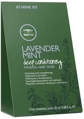 PAUL MITCHELL - Paul Mitchell Tea Tree Lavender Mint Deep Conditioning Mineral Hair Mask Packung mit 6 x 20 ml - HAARMASKEN
