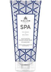 Kallos SPA Moist Shower Scrub Cream 200 ml