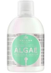 Kallos Cosmetics - Haarshampoo - KJMN Moisturizing Shampoo with Algae Extract & Olive Oil - 1000ml