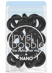 invisibobble Haargummis Nano True Black, Pro Packung 3 Stück