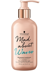 Schwarzkopf Professional Haarpflege Mad About Curls & Waves Mad About Waves Windswept Conditioner 250 ml