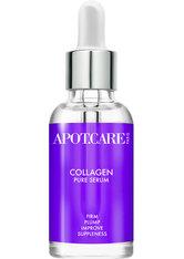 Apot.Care Pure Serum Collagen 30 ml Gesichtsserum