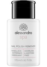 Alessandro Spa Nail Polish Remover Nagellackentferner 175 ml No_Color