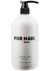 Pur Hair Produkte Basic Curls&Color Shampoo Plus Haarshampoo 1000.0 ml