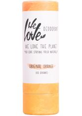 We love the planet Produkte Deo Stick Papertube - Original Orange 65g Körpermilch 65.0 g