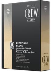 American Crew Haarpflege Precision Blend Tönungen Blond 7-8 3 x 40 ml