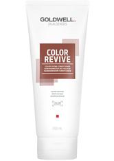 Goldwell Dualsenses Color Revive Conditioner Warmes Braun Belebt die Brillanz wunderschöner Brauntöne, 200 ml
