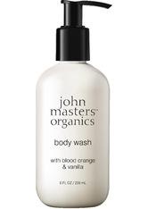 John Masters Organics Body Wash with Blood Orange & Vanilla 8 fl. oz/236ml