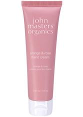 John Masters Organics Körperpflege Handpflege Orange & Rose Hand Cream 54 ml
