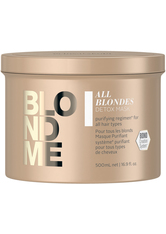 Schwarzkopf Professional BlondMe All Blondes Detox Mask 500 ml Haarmaske